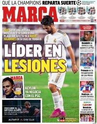 capa Jornal Marca de 29 agosto 2019