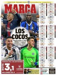 capa Jornal Marca de 30 agosto 2019