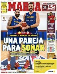 capa Jornal Marca de 31 agosto 2019