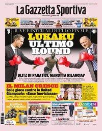 capa La Gazzeta dello Sport de 4 agosto 2019