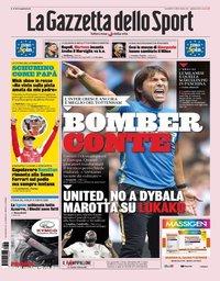 capa La Gazzeta dello Sport de 5 agosto 2019