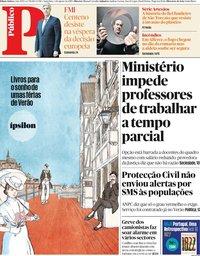 capa Público de 2 agosto 2019