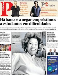 capa Público de 7 agosto 2019