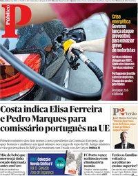 capa Público de 8 agosto 2019