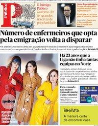 capa Público de 9 agosto 2019