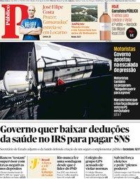 capa Público de 10 agosto 2019