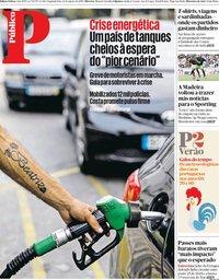 capa Público de 12 agosto 2019
