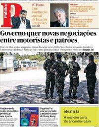 capa Público de 14 agosto 2019