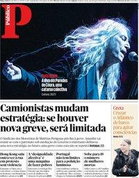 capa Público de 19 agosto 2019