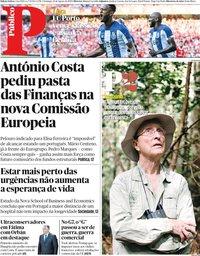 capa Público de 25 agosto 2019