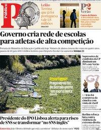 capa Público de 26 agosto 2019