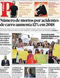capa Público de 27 agosto 2019