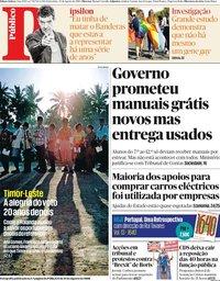 capa Público de 30 agosto 2019