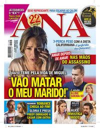 capa Revista Ana de 5 agosto 2019
