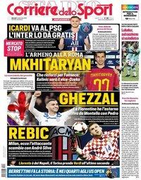 capa Corriere dello Sport de 3 setembro 2019