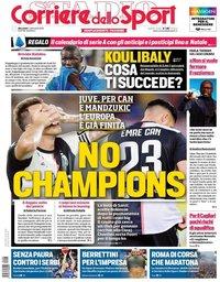 capa Corriere dello Sport de 4 setembro 2019