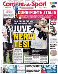 capa Corriere dello Sport de 5 setembro 2019