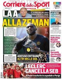 capa Corriere dello Sport de 10 setembro 2019