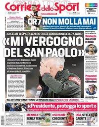 capa Corriere dello Sport de 12 setembro 2019
