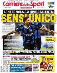 capa Corriere dello Sport de 15 setembro 2019
