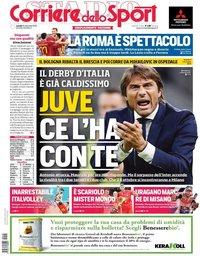 capa Corriere dello Sport de 16 setembro 2019
