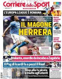 capa Corriere dello Sport de 19 setembro 2019
