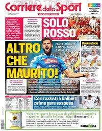 capa Corriere dello Sport de 23 setembro 2019