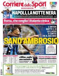 capa Corriere dello Sport de 26 setembro 2019