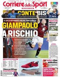 capa Corriere dello Sport de 27 setembro 2019
