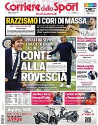 capa Corriere dello Sport de 28 setembro 2019