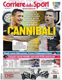 capa Corriere dello Sport de 29 setembro 2019