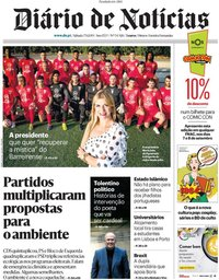capa Diário de Notícias de 7 setembro 2019
