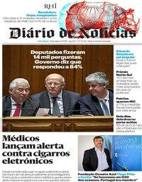 capa Diário de Notícias de 13 setembro 2019