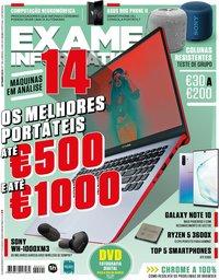 capa Exame Informática de 1 setembro 2019