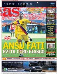 capa Jornal As de 1 setembro 2019