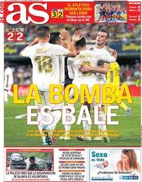 capa Jornal As de 2 setembro 2019