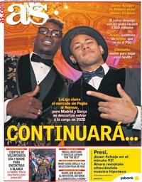 capa Jornal As de 3 setembro 2019