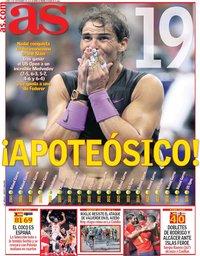 capa Jornal As de 9 setembro 2019