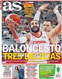 capa Jornal As de 11 setembro 2019