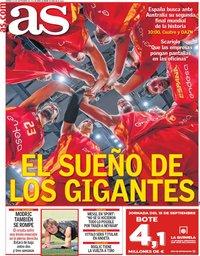 capa Jornal As de 13 setembro 2019