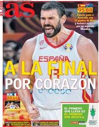 capa Jornal As de 14 setembro 2019