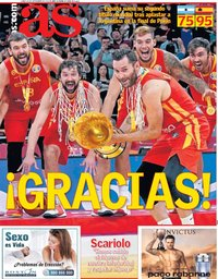 capa Jornal As de 16 setembro 2019