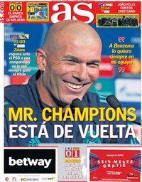 capa Jornal As de 18 setembro 2019