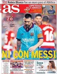 capa Jornal As de 22 setembro 2019