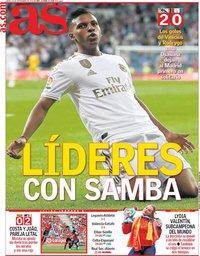 capa Jornal As de 26 setembro 2019