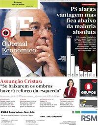 capa Jornal Económico de 13 setembro 2019
