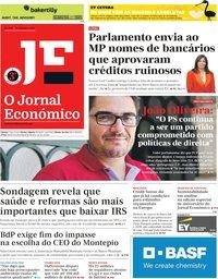 capa Jornal Económico de 20 setembro 2019