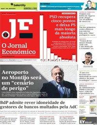 capa Jornal Económico de 27 setembro 2019