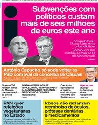capa Jornal i de 3 setembro 2019