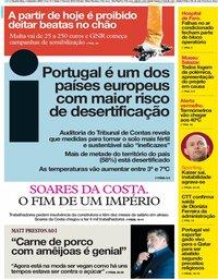capa Jornal i de 4 setembro 2019